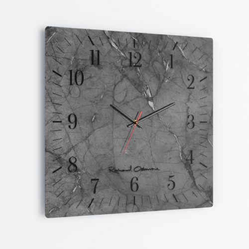 Shadow - Square Glass Clock